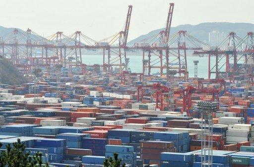South Korea's exports in June rose 1.3 percent from a year ago to reach $47.4 billion