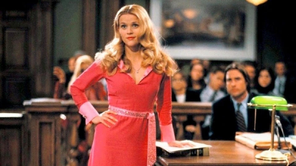 Reese Witherspoon in 'Legally Blonde'. (Credit: MGM)
