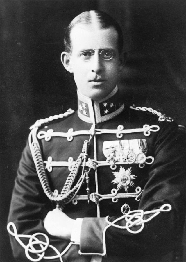 Prince Andrew of Greece, brother of Constantine I and father of Prince Philip, Duke of Edinburgh. (Getty Images)