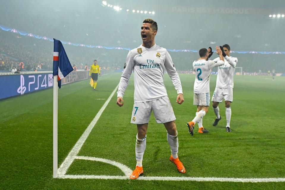 Cristiano Ronaldo and Real Madrid were the latest fellow big-spender to deny Paris Saint-Germain a deep run in Europe. (EFE)