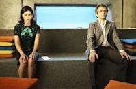 """<p><b>This Season's Theme: </b> """"I'd say it's revolution,"""" says <i>Masters of Sex</i> showrunner Michelle Ashford, of Season 4. """"We pick up in 1968, and as you'll see in the very first episode, the world is really upside down and the characters have undergone a revolution in terms of what they're thinking."""" <br><br><b>Where We Left Off: </b> Sexperts William Masters (Michael Sheen) and Virginia Johnson (Lizzy Caplan) took a four-year time jump in between Seasons 2 and 3. This season, we'll start only a few weeks after the duo's professional and personal breakup, which found Virginia running off with businessman suitor Daniel Logan (Josh Charles) just as Bill's long-suffering wife, Libby (Caitlin FitzGerald), decided to call it quits with him. <br><br><b>Coming Up: </b> Even though they're no longer a """"couple,"""" Masters and Johnson remain internationally recognized celebrities as the '60s keep on swinging. They'll again encounter <i>Playboy</i> founder Hugh Hefner (John Gleeson Connelly), who appeared in one episode last season, but has a larger presence this year. <i>Getting On</i> Emmy nominee Niecy Nash joins the cast for a recurring role as the head of a St. Louis Alcoholics Anonymous chapter. """"She has a pretty harrowing backstory,"""" says Ashford, """"which lands her as a patient in their clinic."""" <br><br><b>Monkey Business: </b> One of the more controversial episodes of Season 3 found Bill and Virginia trying to revive a male gorilla's libido. Although critics largely reacted negatively, Ashford says that she received a letter of support from the Los Angeles Zoo. """"They said it was their absolute favorite episode, because they had this experience of an animal identifying with a trainer sexually. It's not unheard of."""" Still, she admits that it might have been a dramatic leap that some viewers weren't willing to take. """"Lizzie was a great sport about it, and did a beautiful job. Her days of cavorting with gorillas are over. I can safely say that."""" <i>– Ethan Alter</i> <b"""