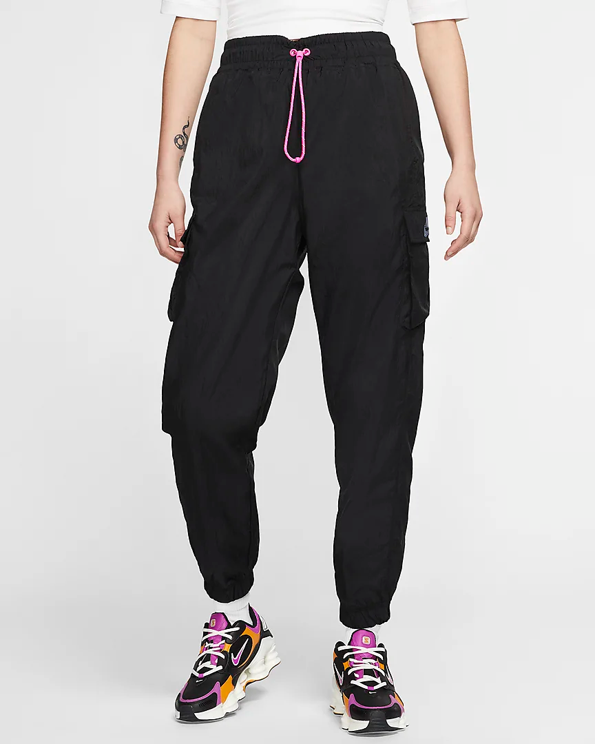 """<h3>Nike<br></h3><br><strong>Dates: </strong>Limited time<br><strong>Sale: </strong><a href=""""https://www.nike.com/w/womens-sale-3yaepz5e1x6?"""" rel=""""nofollow noopener"""" target=""""_blank"""" data-ylk=""""slk:Up to 40% off clearance sale"""" class=""""link rapid-noclick-resp"""">Up to 40% off clearance sale</a><br><strong>Promo Code</strong>: None<br><br>The sportswear giant's athletic goods are high-performance but still cool enough for every day. Their <a href=""""https://www.nike.com/w/womens-sale-3yaepz5e1x6?"""" rel=""""nofollow noopener"""" target=""""_blank"""" data-ylk=""""slk:clearance section is currently up to 40% off"""" class=""""link rapid-noclick-resp"""">clearance section is currently up to 40% off</a>, so you can splurge on some of the slick gym-to-street duds.<br><br><br><strong>Nike</strong> Icon Clash Woven Pant, $, available at <a href=""""https://go.skimresources.com/?id=30283X879131&url=https%3A%2F%2Fwww.nike.com%2Ft%2Fsportswear-icon-clash-womens-woven-pants-P7ffQs%2FCV9046-010"""" rel=""""nofollow noopener"""" target=""""_blank"""" data-ylk=""""slk:Nike"""" class=""""link rapid-noclick-resp"""">Nike</a>"""