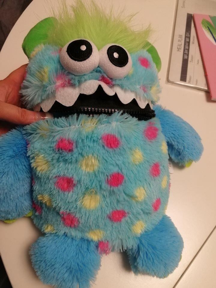Natalie Vaughan's Worry Monster (Photo: Natalie Vaughan/Facebook)