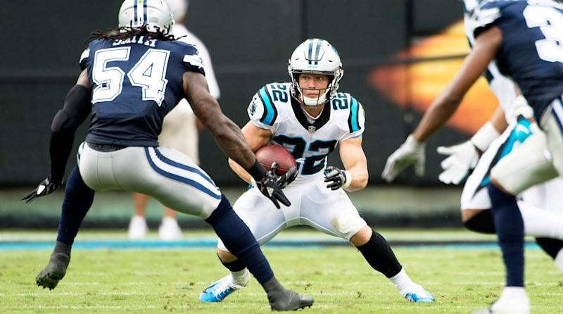 Image result for christian mccaffrey