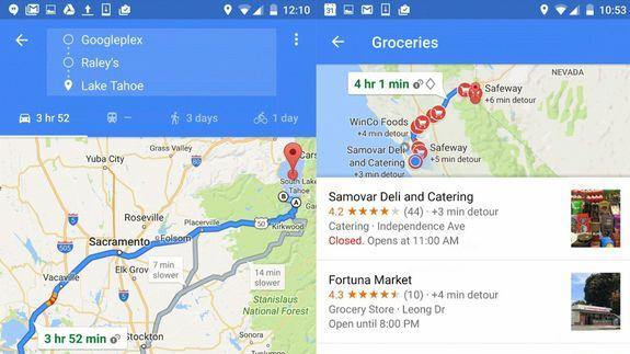 Google Maps now lets you add multiple stops to your trip on map wedding, map travel, map project,
