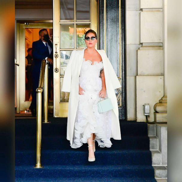 PHOTO: Lady Gaga is seen in Midtown Manhattan on July 1, 2021, in New York. (Raymond Hall/GC Images via Getty Images)