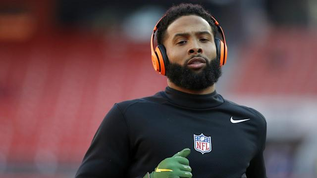 After appearing to slap a security officer's buttocks following LSU's win over Clemson, Odell Beckham Jr. has had an arrest warrant dropped.