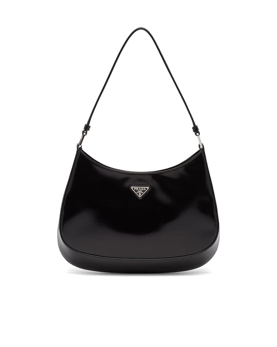 "<p><strong>Prada</strong></p><p>prada.com</p><p><strong>$1990.00</strong></p><p><a href=""https://www.prada.com/us/en/women/bags/shoulder_bags/products.prada_cleo_brushed_leather_shoulder_bag.1BC499_ZO6_F0002_V_OOO.html"" rel=""nofollow noopener"" target=""_blank"" data-ylk=""slk:SHOP IT"" class=""link rapid-noclick-resp"">SHOP IT</a></p><p>The Prada Cleo bag is a minimalist's dream. The sleek design and practical size make it the perfect everyday bag. </p>"