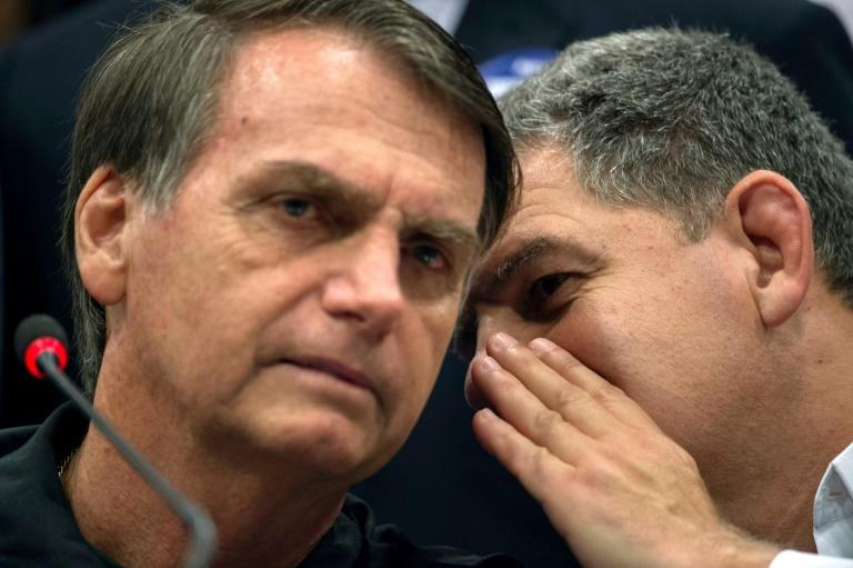 Jair Bolsonaro secured 46 percent of the vote in the first round of Brazil's presidential election