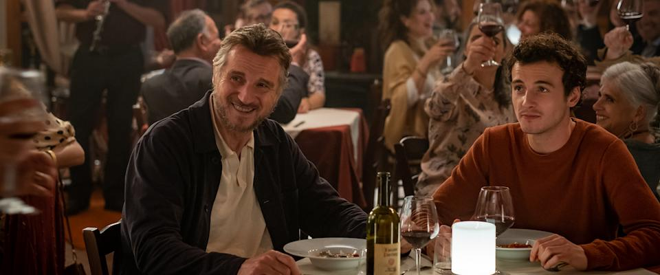 Liam Neeson and son Micheál Richardson in <em>Made in Italy. </em>(Photo: IFC FILMS)