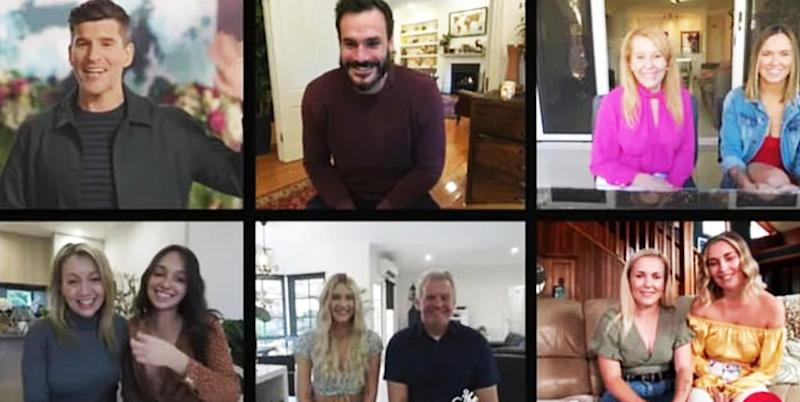 bachelor australia zoom chat top four