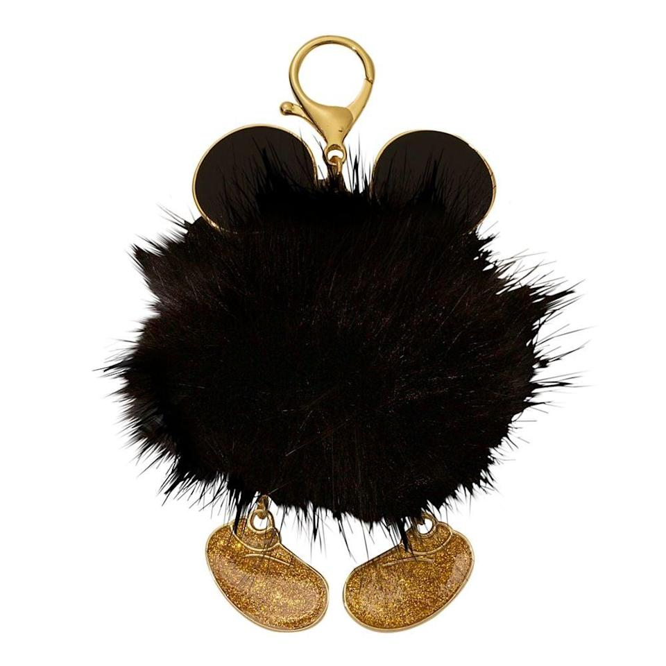 <p>Add a pop of Disney spirit to their handbags with the <span>Mickey Mouse Fuzzy Bag Charm</span> ($17).</p>