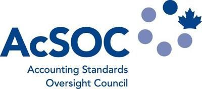 The Accounting Standards Oversight Council's English logo (CNW Group/Financial Reporting & Assurance Standards Canada)