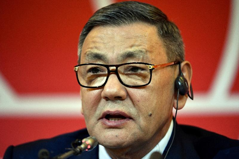 Gafur Rakhimov was a controversial choice as head of amateur boxing