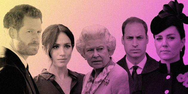 Will these feuding royals ever patch things up? Here's what family therapists think. (Photo: Isabella Carapella for HuffPost/Getty Images)