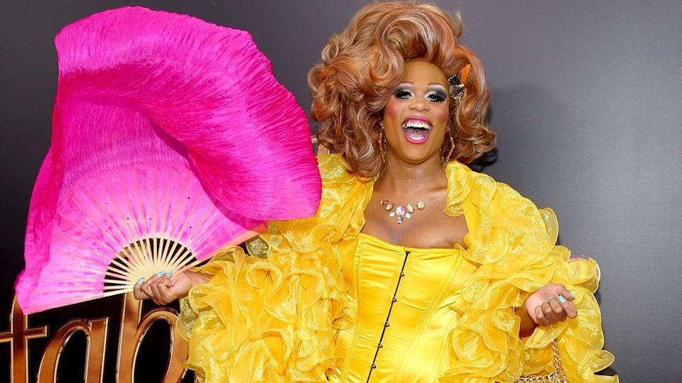 Peppermint was RuPaul's first trans contestant. Copyright: [Rex]