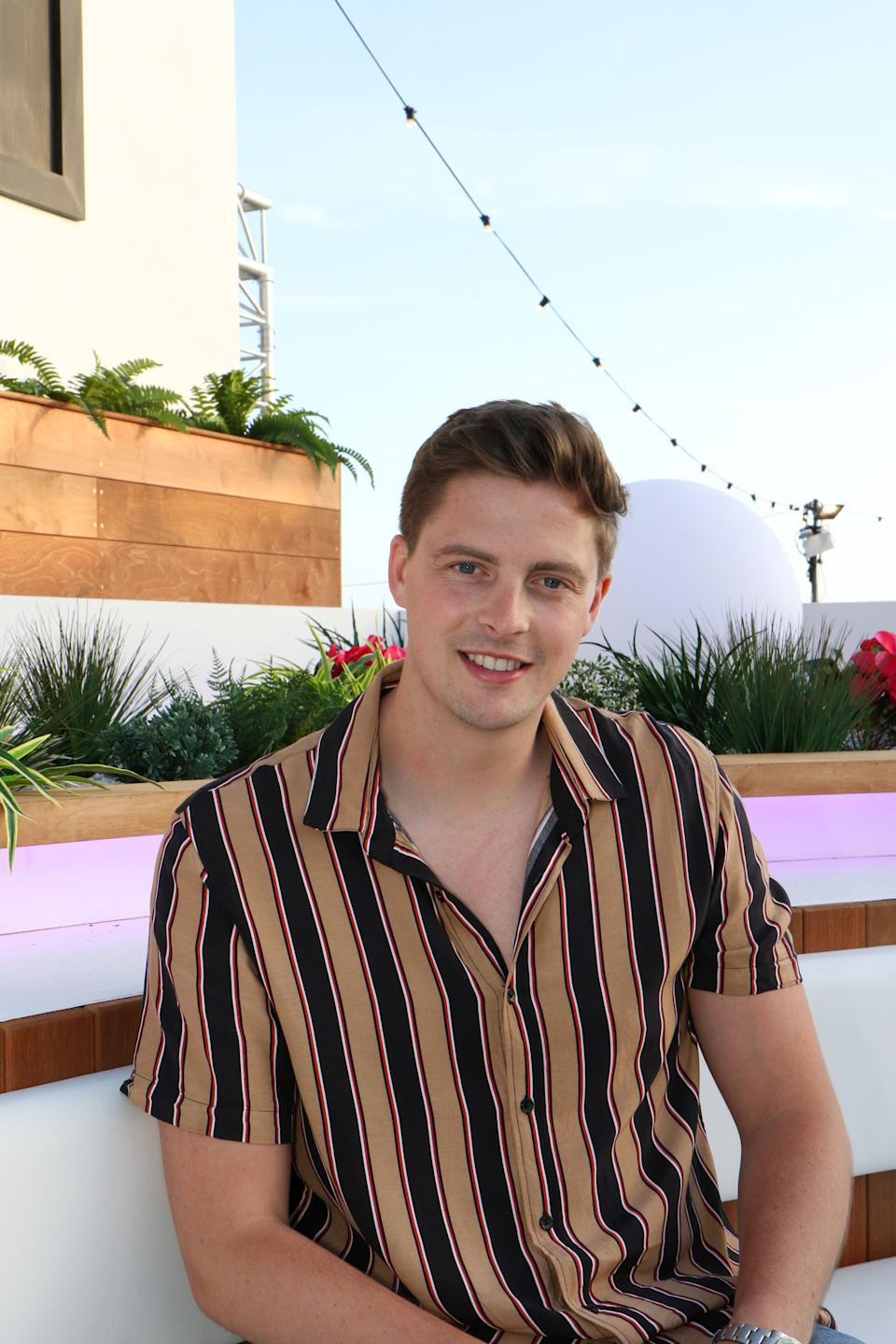 Dr Alex George, a contestant on series 4 of the ITV2 reality television show 'Love Island', 2018. (Photo by Tim Roney/Getty Images)