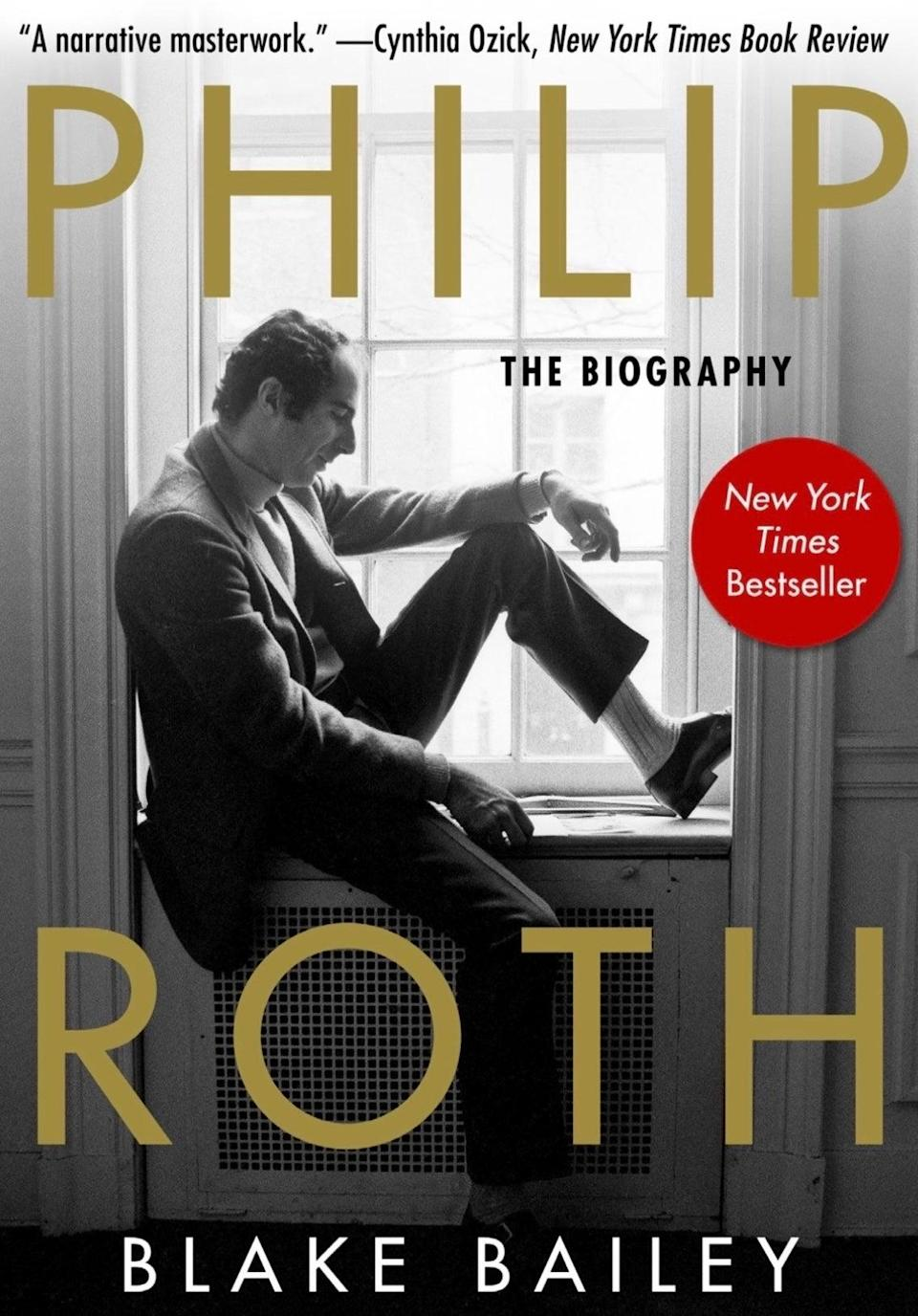 Books-Philip Roth Biography (ASSOCIATED PRESS)