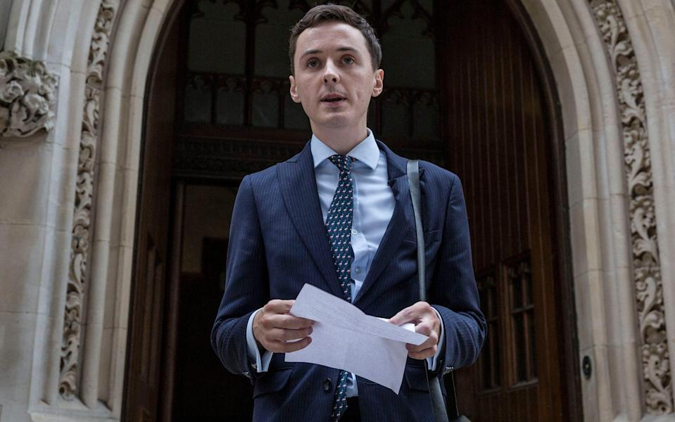 Darren Grimes and Dr David Starkey were being investigated over a podcast posted on conservative commentator Mr Grimes' Reasoned UK YouTube channel - Jeff Gilbert