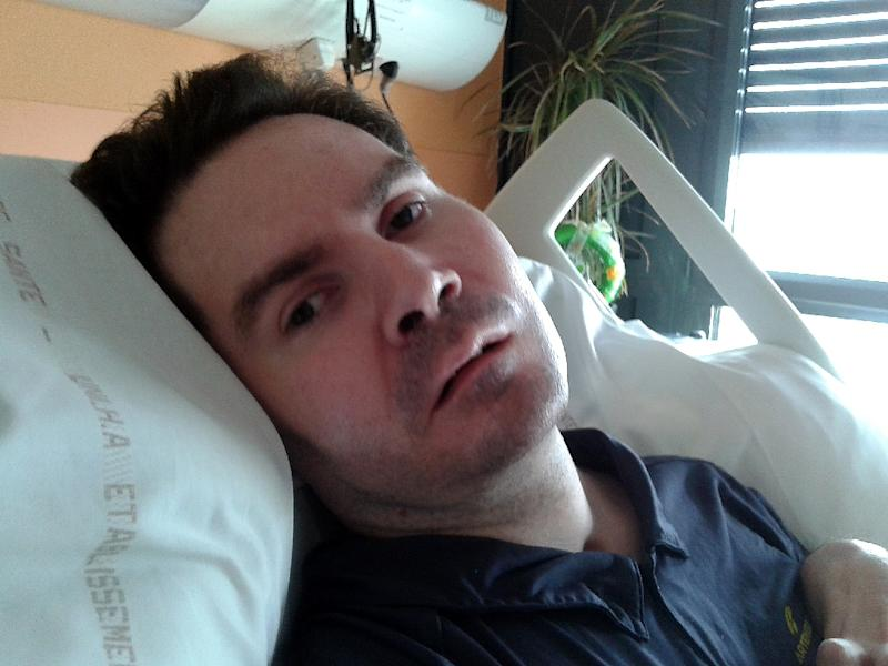 Vincent Lambert has been kept in a vegetative state at a hospital in Reims, northwest France, since suffering severe brain damage in a car wreck in 2008
