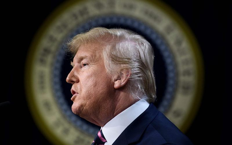 Donald Trump's presidency is on the line in the Senate impeachment trial - AFP