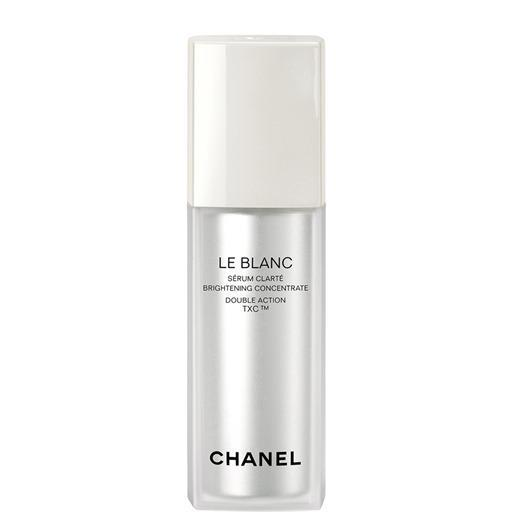 "<p>This serum is packed with pearl extract and antioxidants for brighter and smoother skin. <a href=""http://www.chanel.com/en_US/fragrance-beauty/Skincare-Serums-%26-Concentrates-LE-BLANC-139023/sku/139024"" rel=""nofollow noopener"" target=""_blank"" data-ylk=""slk:Chanel Le Blanc Brightening Concentrate"" class=""link rapid-noclick-resp"">Chanel Le Blanc Brightening Concentrate</a> ($195)<br></p>"