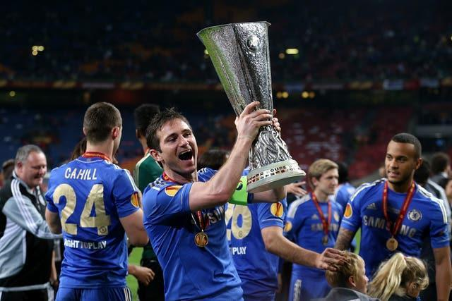 Lampard enjoyed great success as a Chelsea player