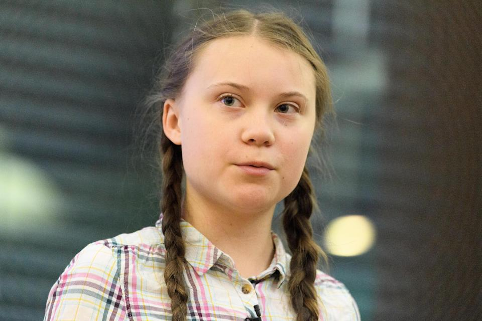 <p>Greta Thunberg speaks out after 'fat-shaming' article published in Chinese state media</p>