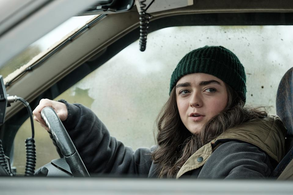 Maisie Williams as Kim in Two Weeks To Live. (Sky/Nick Wall)