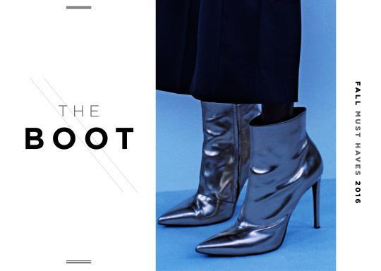<p>If its not metallic this fall, don't bother. These metallic Balenciaga ankle boots are the more realistic version of the thigh-length versions seen on the runway (and on Kylie Jenner). </p>