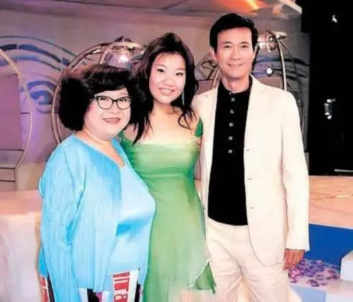 Joyce is the daughter of Lydia Shum and former husband Adam Cheng