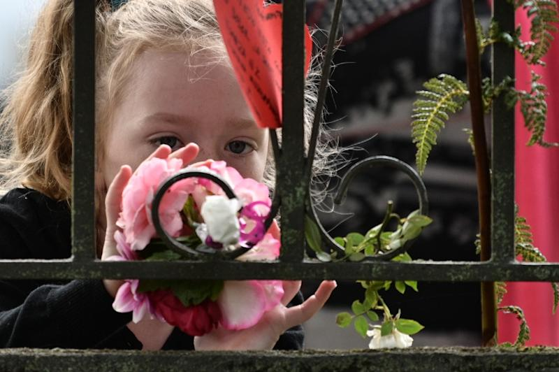 Parents say managing their children's curiosity has been a big challenge (AFP Photo/Anthony WALLACE)