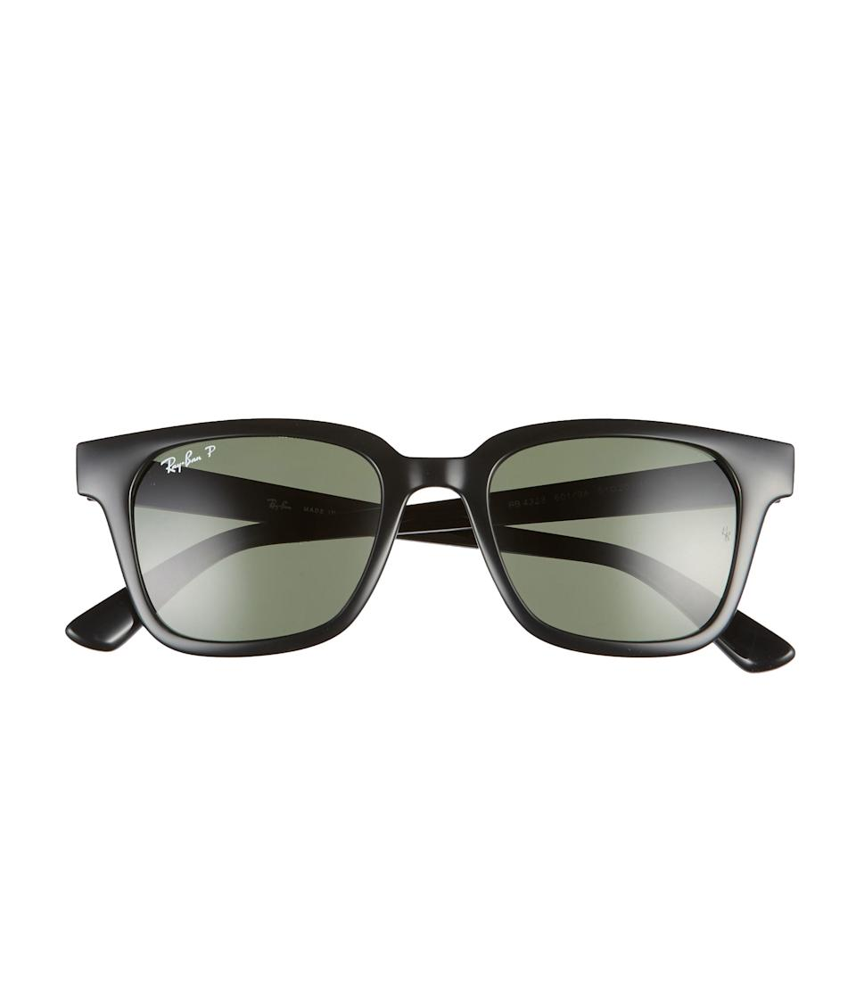 "Replace Dad's old shades with a timeless pair from Ray-Ban. Order from Nordstrom by June 19 for next-business-day shipping, or choose <a href=""https://click.linksynergy.com/deeplink?id=3r4YdkDiq/o&mid=1237&u1=lastminutefathersdaygifts&murl=https%3A%2F%2Fshop.nordstrom.com%2Fc%2Fshipping-methods-charges%3F"" rel=""nofollow noopener"" target=""_blank"" data-ylk=""slk:no-contact curbside pickup"" class=""link rapid-noclick-resp"">no-contact curbside pickup</a> at select locations. $178, Nordstrom. <a href=""https://shop.nordstrom.com/s/ray-ban-wayfarer-51mm-polarized-sunglasses/5455612"" rel=""nofollow noopener"" target=""_blank"" data-ylk=""slk:Get it now!"" class=""link rapid-noclick-resp"">Get it now!</a>"