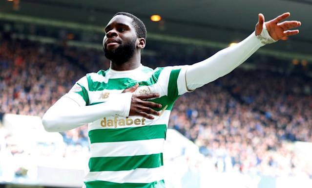 Odsonne Édouard seals Old Firm win for 10-man Celtic against Rangers