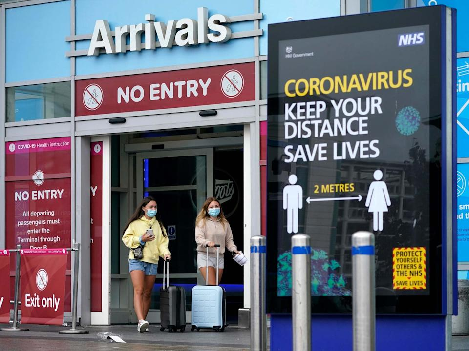 Data shows just one fine was issued by police over breaches of travel quarantine rules: Getty