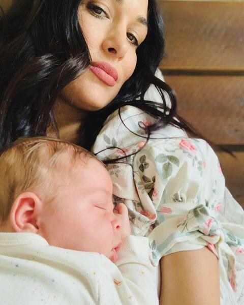 "<p>Brie Bella doubled the Bella family's excitement when she and husband Daniel Bryan welcomed their second child together on Aug. 1. (Although <em><a href=""https://www.usatoday.com/story/entertainment/celebrities/2020/08/02/twins-brie-nikki-bella-welcomes-baby-boy-one-day-apart/5568295002/"" rel=""nofollow noopener"" target=""_blank"" data-ylk=""slk:USA Today"" class=""link rapid-noclick-resp"">USA Today</a></em> reports that Brie actually beat Nikki in making her son's birth social media official.) The younger twin told <em><a href=""https://people.com/parents/nikki-bella-brie-bella-pregnant-due-2-weeks-apart-exclusive-photos/"" rel=""nofollow noopener"" target=""_blank"" data-ylk=""slk:People"" class=""link rapid-noclick-resp"">People</a></em> that she and Daniel were ""shocked"" when she got pregnant with Buddy Dessert, especially since she had just made peace with the idea that two-year-old Birdie would be their only child.</p><p>""My husband and I were trying for seven or eight months, but then I felt in my heart it was a sign from God, like, 'You guys are good with one,' so we stopped trying,"" Brie said. ""I took a test two days before Thanksgiving, and when I saw the positive sign, I was like, 'Oh, s—!' "" </p><p>Given their surprise pregnancies and births only hours apart, you can expect that there is much more double-trouble from Matteo and Buddy to come. </p><p><a href=""https://www.instagram.com/p/CEj2KIXBHol/?utm_source=ig_embed&utm_campaign=loading"" rel=""nofollow noopener"" target=""_blank"" data-ylk=""slk:See the original post on Instagram"" class=""link rapid-noclick-resp"">See the original post on Instagram</a></p>"