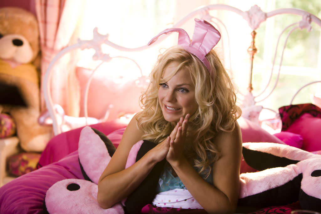 "1 NOMINATION -- <a href=""http://movies.yahoo.com/movie/1809921361/info"">The House Bunny</a>  Best Comedic Performance - <a href=""http://movies.yahoo.com/movie/contributor/1800506130"">Anna Faris</a>"