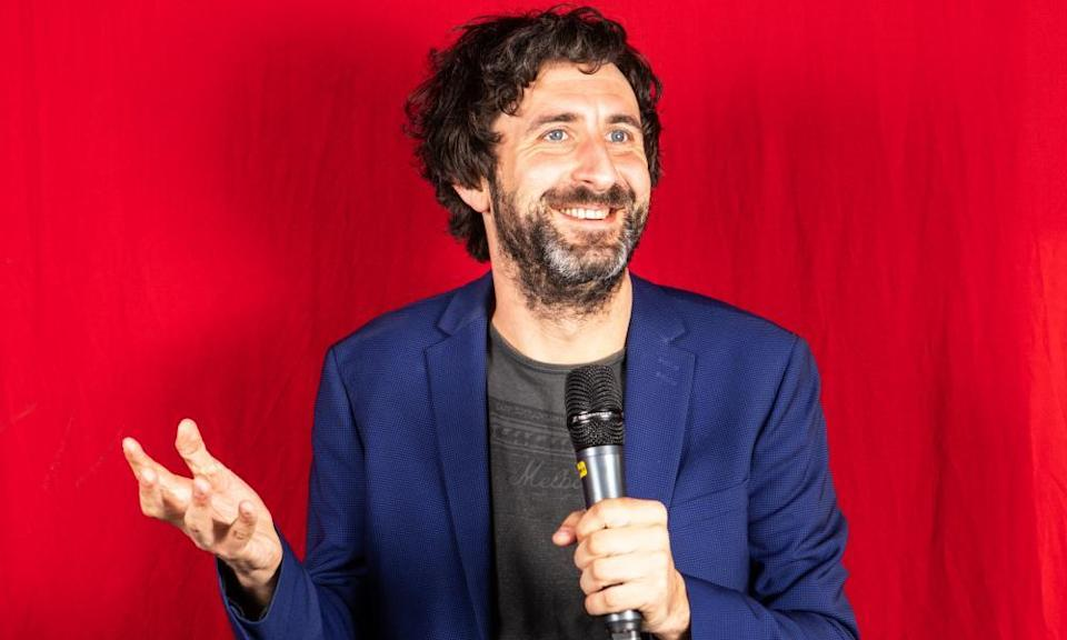At the drive-in ... Mark Watson.