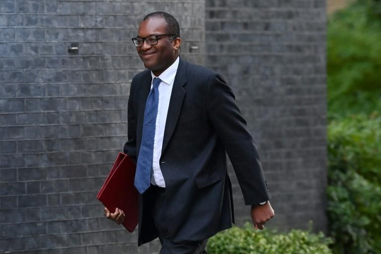 Business Secretary Kwasi Kwarteng has signed a deal to enable the plants to restart production for three weeks (AFP/Ben STANSALL)