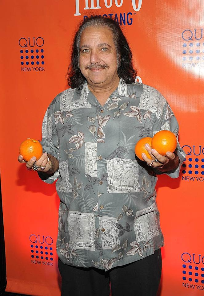 "Perhaps porn star Ron Jeremy is considering joining ""The Real Housewives of Orange County"" cast? Jamie McCarthy/<a href=""http://www.wireimage.com"" target=""new"">WireImage.com</a> - February 23, 2010"