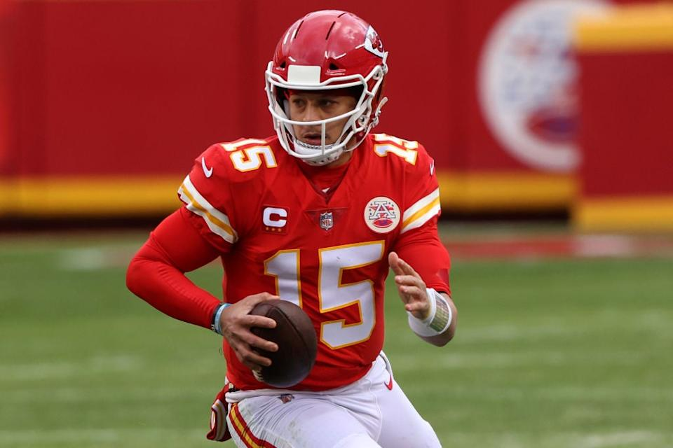 Patrick Mahomes is a doubt for Sunday (Getty)
