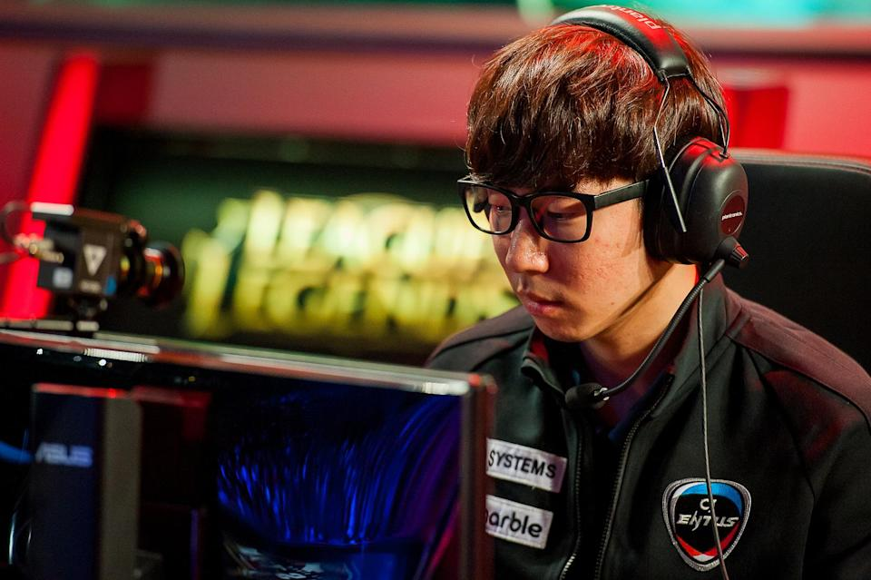 CJ Entus top laner Shy was once among the best in the world (Riot Games/Lolesports)