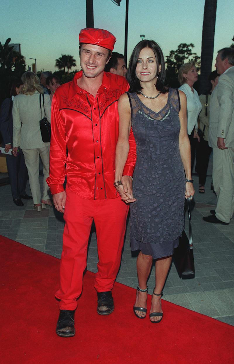 David Arquette e Courteney Cox (Foto: Frank Trapper/Corbis via Getty Images)