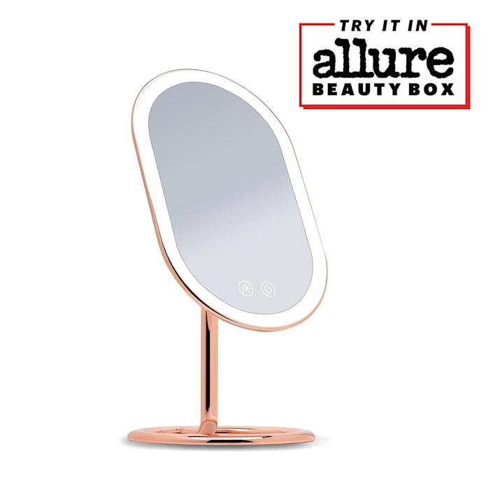 """<p>""""Whether you're applying a new face mask or getting ready for a big night out, this mirror will make any beauty moment feel more luxurious than ever before. (Plus it looks absolutely stunning no matter where you place it.)"""" – <em>Allure editors</em></p> <p><em>This month,</em> <a href=""""https://beautybox.allure.com/?source=EDT_ALB_EDIT_GALLERYINCL_0_FANCII_DROPSHIP_ZZ"""" rel=""""nofollow noopener"""" target=""""_blank"""" data-ylk=""""slk:Allure Beauty Box"""" class=""""link rapid-noclick-resp""""><em>Allure Beauty Box</em></a> <em>members get an exclusive discount on the Fancii Vera Lighted Vanity Mirror — it's valued at $119, but you can snag it for just $49.</em> <a href=""""https://beautybox.allure.com/?source=EDT_ALB_EDIT_GALLERYINCL_0_FANCII_DROPSHIP_ZZ"""" rel=""""nofollow noopener"""" target=""""_blank"""" data-ylk=""""slk:Become a member today"""" class=""""link rapid-noclick-resp""""><em>Become a member today</em></a><em>!</em> </p>"""