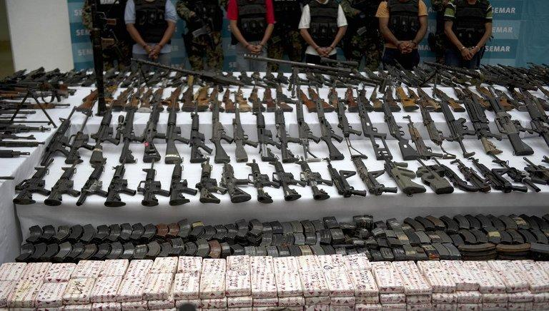 Mexican marines escort five alleged drug traffickers of the Zetas drug cartel on June 9, 2011. The arrest of Fuentes comes after police swooped on Zetas cartel kingpin Miguel Angel Trevino earlier in the year