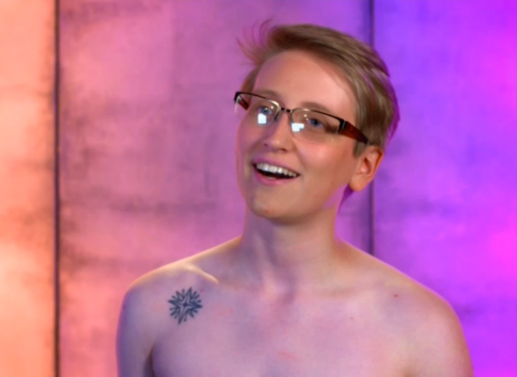 Two transgender contestants appeared on the show [Photo: Channel 4]