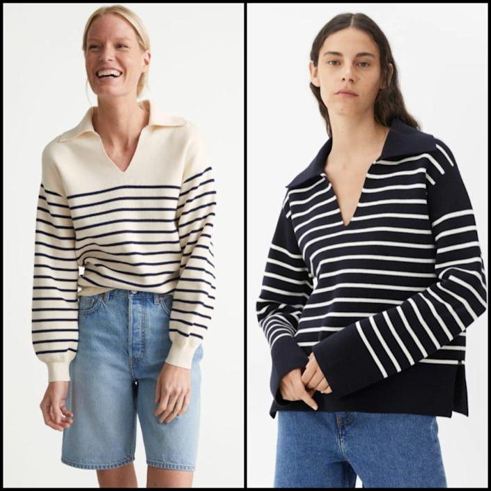 & Other Stories and Arket's sellout striped knits - & Other Stories / Arket