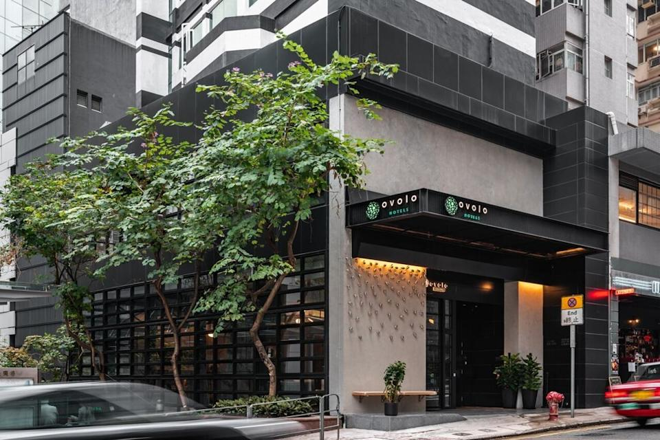 The Ovolo Group's boutique hotel in Central was among those that missed out on a quarantine designation. Photo: Handout