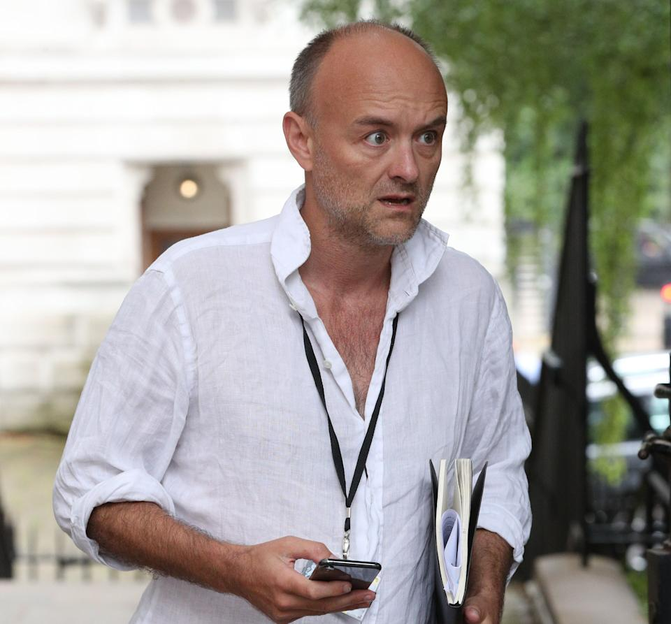<strong>Dominic Cummings, the controversial ex-boss of Vote Leave, is now Boris Johnson's most senior aide.</strong> (Photo: PA Wire/PA Images)