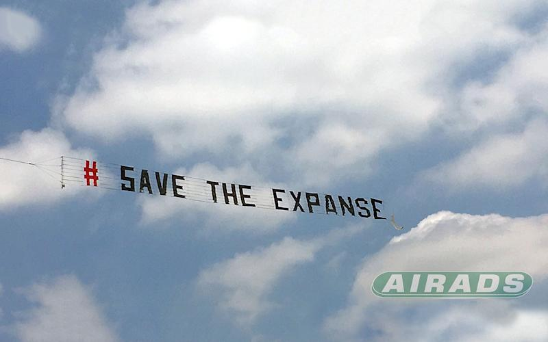 Save The Expanse Banner